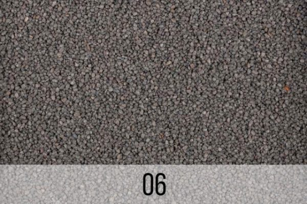 kruszywo kwarcowe szare