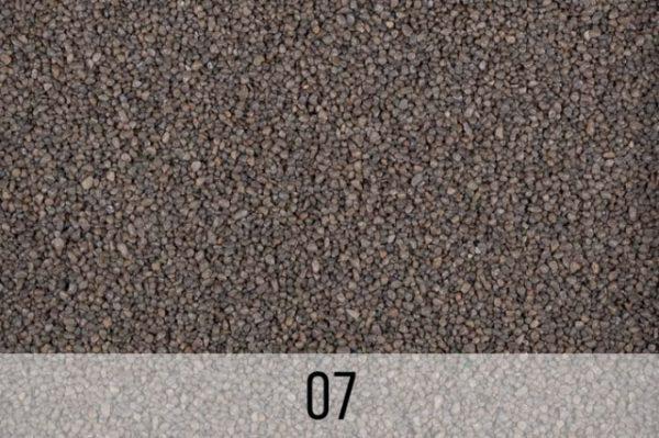 kruszywo barwione szare